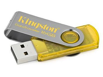 Kingston 16GB DataTraveler 101 USB Flash Drive - Yellow (pack 2 pcs)