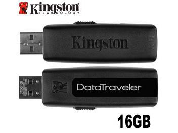 Kingston 16GB DataTraveler 100 USB Flash Memory (pack 2 pcs)