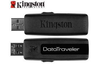 Kingston 32GB DataTraveler 100 USB Flash Memory (pack 3 pcs)