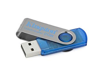Kingston 2GB DataTraveler 101 USB Flash Drive - Blue (pack 2 pcs)