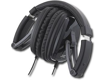 JVC HA-M750 Black Series DJ-Style Foldable Headphones - Black (pack 2 pcs)