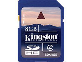 Kingston 8GB Class-4 SDHC Memory Card (pack 2 pcs)