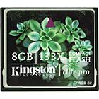Kingston 8GB CompactFlash Elite Pro Memory Card (pack 5 pcs)