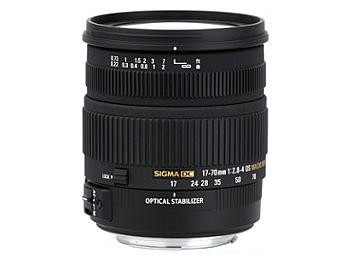 Sigma 17-70mm F2.8-4.5 DC Macro OS HSM Lens - Sigma Mount