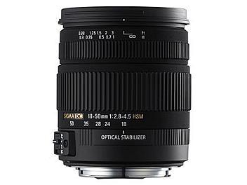 Sigma 18-50mm F2.8-4.5 DC OS HSM Lens - Pentax Mount