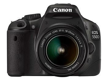 Canon EOS-550D DSLR Camera Kit with Canon EF-S 18-55mm IS Lens