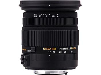 Sigma 17-50mm F2.8 EX DC OS HSM Lens - Canon Mount