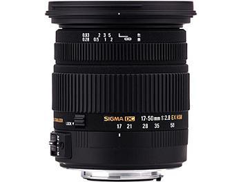 Sigma 17-50mm F2.8 EX DC OS HSM Lens - Sigma Mount