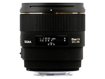 Sigma 85mm F1.4 EX DG HSM Lens - Nikon Mount