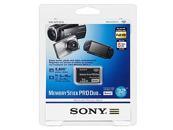 Sony 32GB Memory Stick PRO Duo Mark 2 (pack 2 pcs)
