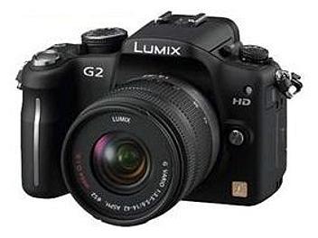 Panasonic Lumix DMC-G2 Camera PAL Kit with 14-42mm Lens - Black