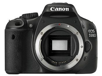 Canon EOS-550D DSLR Camera Kit with Canon EF-S 18-135mm IS Lens