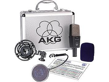AKG C414B Multi-Pattern Large Diaphragm Studio Condenser Microphone