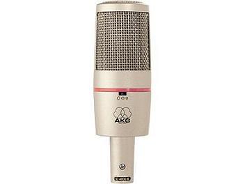 AKG C4000B - Multi-Pattern Studio Condenser Microphone