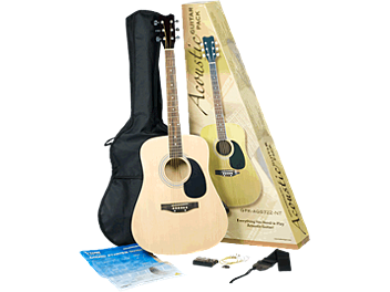 Behringer ACOUSTIC GUITAR PACK GPK-AGS722-NT