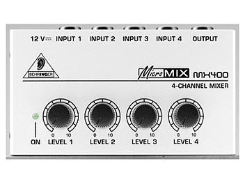 Behringer MICROMIX MX400 Low Noise Audio Mixer