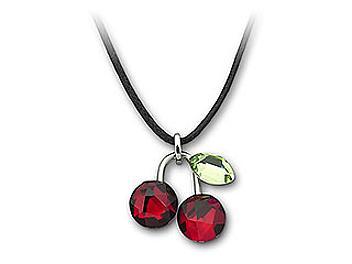 Swarovski 891634 Fruity Cherry Mini Pendant (pack 2 pcs)
