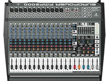 Behringer EUROPOWER PMP5000 Powered Audio Mixer
