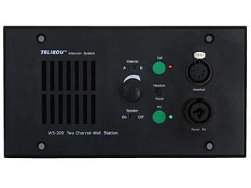 Telikou WS-200/5 2-channel Recessed Intercom Speaker Station