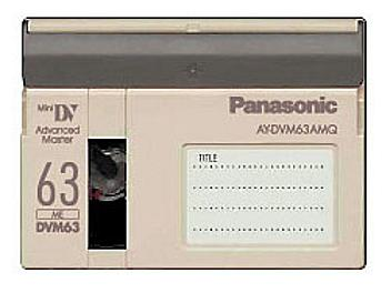 Panasonic AY-DVM63AMQ mini-DV Cassette (pack 100 pcs)