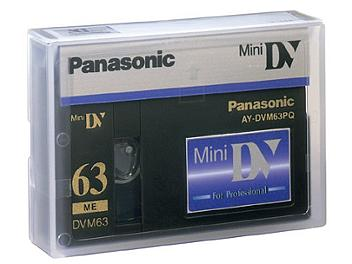 Panasonic AY-DVM63PQ mini-DV Cassette (pack 500 pcs)