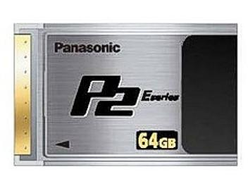 Panasonic AJ-P2E064XG P2 Card 64GB (pack 5 pcs)