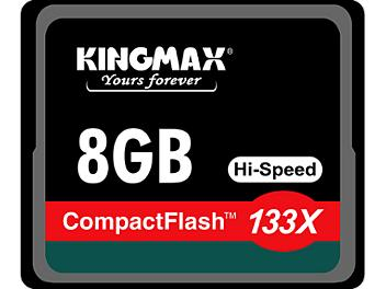 Kingmax 8GB CompactFlash 133x Memory Card (pack 3 pcs)