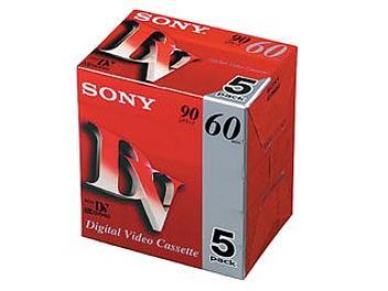 Sony DVM60R3 mini-DV Cassette (pack 25 pcs)