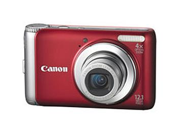 Canon PowerShot A3100 IS Digital Camera - Red