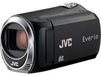 JVC Everio GZ-MS110 SD Camcorder PAL - Black