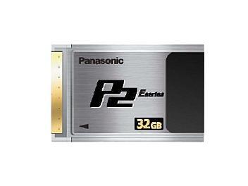 Panasonic AJ-P2E032XG P2 Card 32GB (pack 2 pcs)