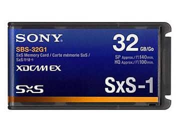 Sony SBS-32G1 32GB SxS Memory Card (pack 2 pcs)