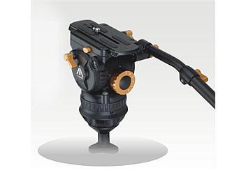 E-Image 7083H 100mm Fluid Video Head - Orange