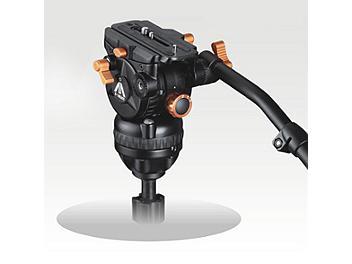 E-Image 7060H 75mm Fluid Video Head - Orange