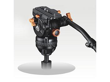 E-Image 7061H 75mm Fluid Video Head - Orange