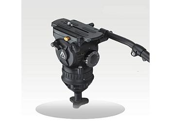 E-Image 7087H 100mm Fluid Video Head - Black