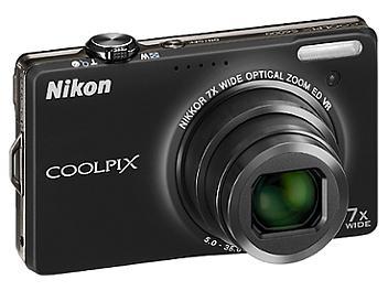 Nikon Coolpix S6000 Digital Camera - Black