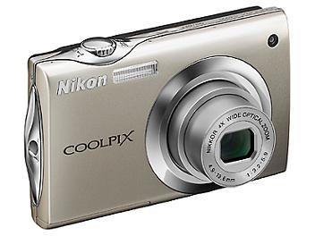 Nikon Coolpix S4000 Digital Camera - Silver