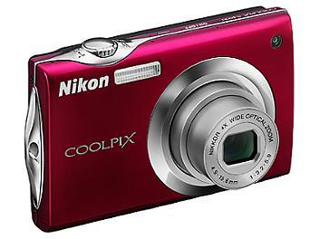 Nikon Coolpix S4000 Digital Camera - Red