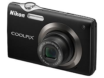 Nikon Coolpix S3000 Digital Camera - Black
