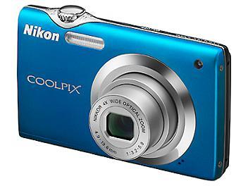 Nikon Coolpix S3000 Digital Camera - Blue
