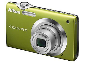 Nikon Coolpix S3000 Digital Camera - Green