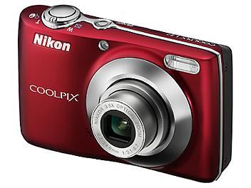 Nikon Coolpix L22 Digital Camera - Red
