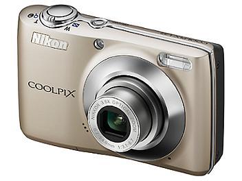 Nikon Coolpix L22 Digital Camera - Silver