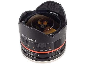 Samyang 8mm F2.8 Fisheye Lens - Samsung NX Mount