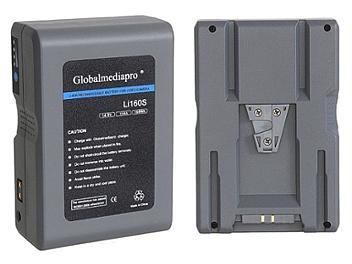 Globalmediapro Li160S-R Lithium ion Battery 160WH for Red Camera