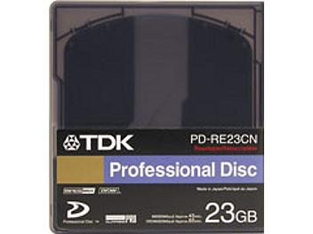 TDK PD-RE23CS 23GB XDCAM Disc (pack 20 pcs)