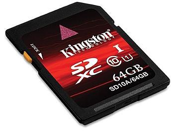 Kingston 64GB Class-10 SDXC Memory Card