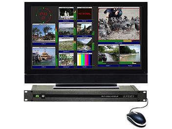VideoSolutions Ulysses SDI\CV 8ea Multiviewer with Embedded Audio