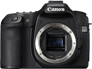 Canon EOS-60D DSLR Camera Body